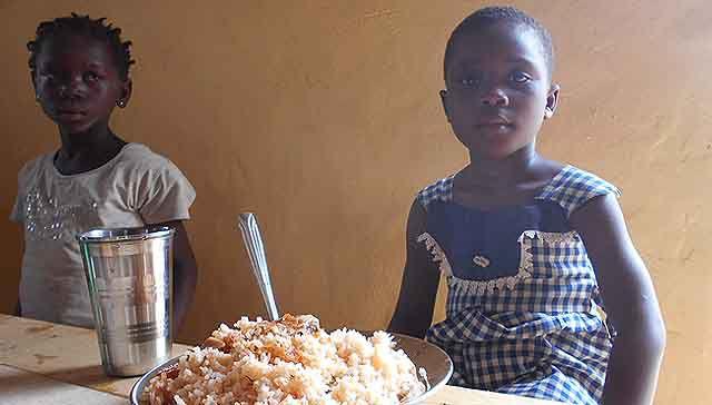 En marcha el comedor escolar de Kafanadougou