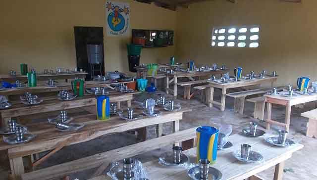 New canteen in Kafanadougou