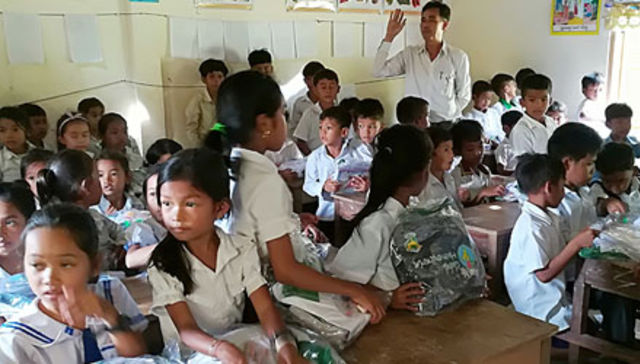 Schooling Program in Takeo